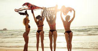 disfrutar dia de playa