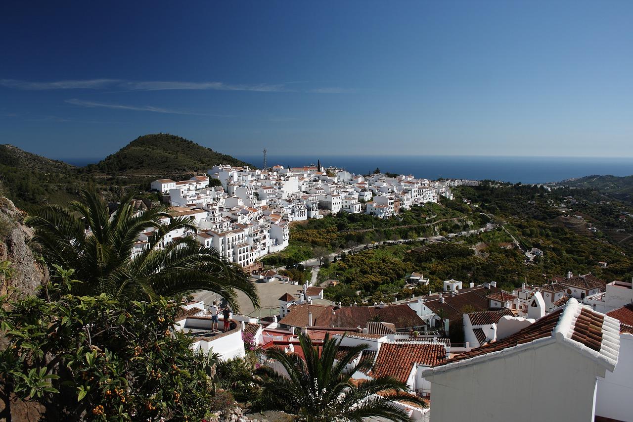 Frigiliana en la provincia de Málaga